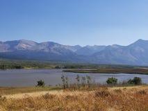 взгляд горы утесистый Стоковая Фотография RF