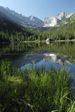взгляд гор озера драгоценности colorado утесистый Стоковое Изображение