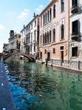 Взгляд грандиозного канала в Венеции, Италии стоковые фотографии rf