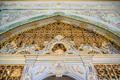 Взгляд дворца Топкапы в Стамбуле, Турции стоковые изображения