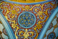 Взгляд дворца Топкапы в Стамбуле, Турции стоковые фото