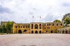 Взгляд 03 дворца Beiteddine стоковая фотография rf
