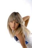 взгляд девушки блестящий сексуальный Стоковое фото RF