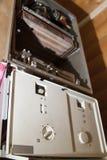 взгляд демонтированного боилера газа для ремонта стоковое изображение