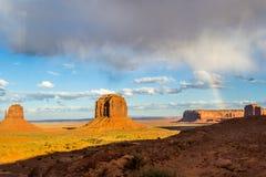 Взгляд долины памятника Стоковое Фото