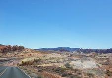 Взгляд долины радуги Стоковые Изображения