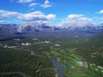 взгляд долины смычка Стоковое Фото