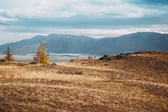 взгляд долины Украины горы Крыма стоковое фото rf