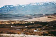 взгляд долины Украины горы Крыма стоковые фотографии rf