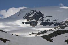 взгляд долины aosta alps Стоковые Фотографии RF