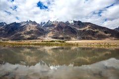 Взгляд долины Zanskar Стоковые Изображения RF