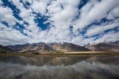 Взгляд долины Zanskar Стоковые Фотографии RF