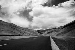 взгляд дороги горы Стоковая Фотография