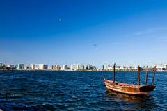 взгляд Дубай заводи стоковая фотография rf