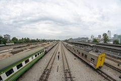 Взгляд железнодорожного вокзала Hat Yai стоковое фото rf