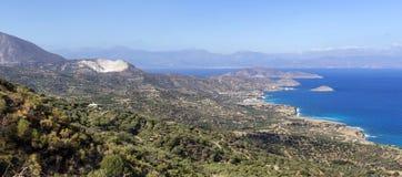 Взгляд залива от высоты стоковые фотографии rf