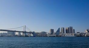 Взгляд залива токио, Японии Стоковое Изображение RF