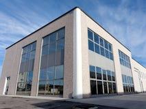 взгляд залы промышленный внешний Стоковое Изображение
