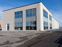 взгляд залы промышленный внешний Стоковая Фотография