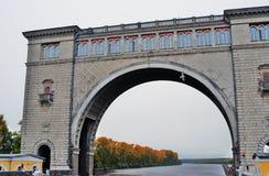 Взгляд замка на Реке Волга около Uglich Стоковые Фотографии RF