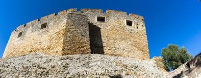 Взгляд замка Tomar панорамный Стоковые Изображения RF