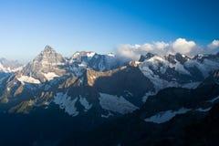 Взгляд западного Кавказа Стоковая Фотография RF