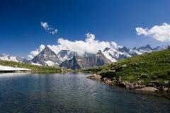 Взгляд западного Кавказа Стоковое Изображение RF