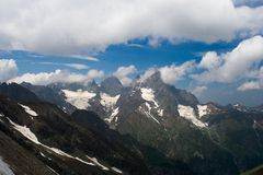 Взгляд западного Кавказа Стоковое фото RF