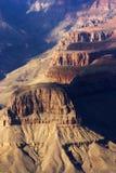 взгляд захода солнца каньона грандиозный стоковое изображение rf