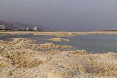 Взгляд захода солнца образований соли и известный псориаз здоровья обрабатывают Стоковое Изображение