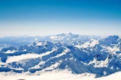 взгляд зиги горы caucasus главным образом Стоковые Изображения