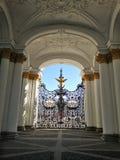 Взгляд Зимнего дворца стоковое изображение rf