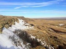 Взгляд зимы места всемирного наследия ЮНЕСКО, Голов-Ломать-в стоковые фотографии rf