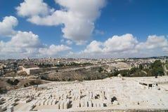 взгляд Иерусалима Стоковое Фото
