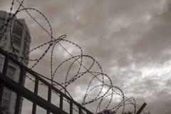 Взгляд из тюрьмы стоковые изображения rf
