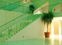 взгляд интерьера залы edmonton города стоковое изображение