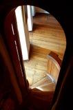 взгляд интерьера замока стоковая фотография rf