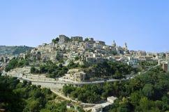 взгляд Италии ragusa Сицилии ibla Стоковая Фотография RF