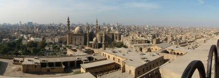 взгляд Каира панорамный Стоковая Фотография