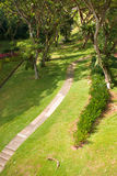 взгляд кампуса стоковое фото