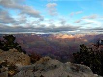 взгляд каньона грандиозный панорамный Стоковые Фото