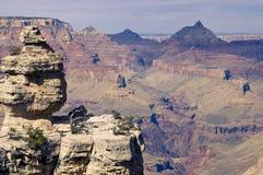 взгляд каньона грандиозный сценарный Стоковое Изображение RF