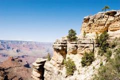взгляд каньона грандиозный сценарный Стоковые Фотографии RF
