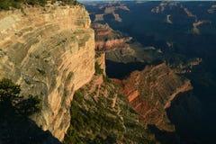 взгляд каньона грандиозный Стоковое Изображение