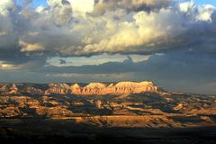 Взгляд каньона Brice Стоковое Изображение RF