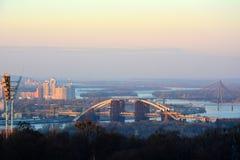 Взгляд Киева, Украины Стоковое Изображение