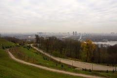 Взгляд Киева, Украины Стоковое Фото