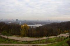 Взгляд Киева, Украины Стоковые Изображения RF