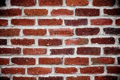 Взгляд кирпичной стены стоковое изображение