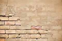 Взгляд кирпичной стены стоковая фотография